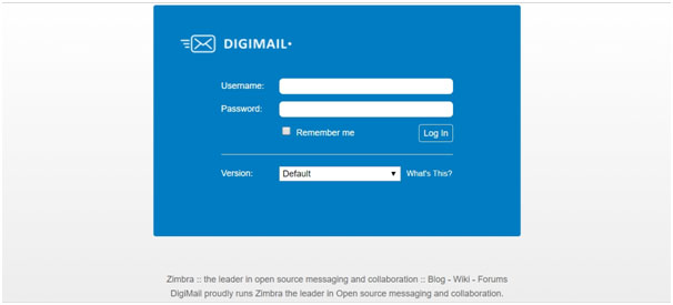Digimail CSC Login