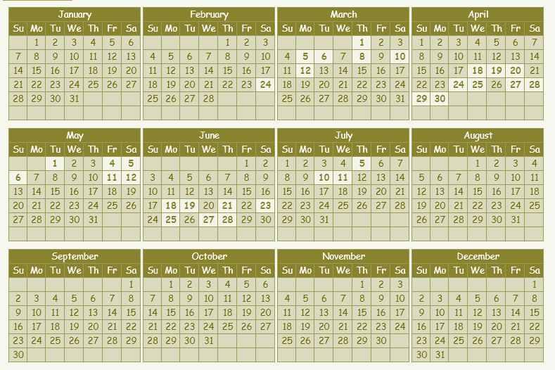 kishore jantri calendar 2018 rajasthan