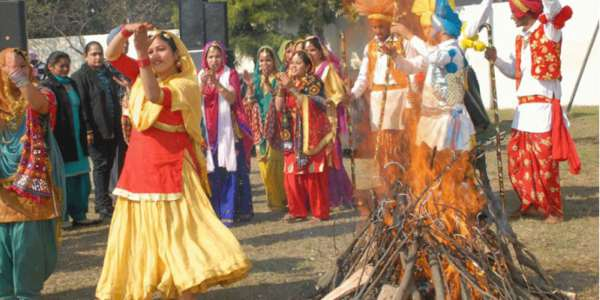 happy lohri images 3d HD