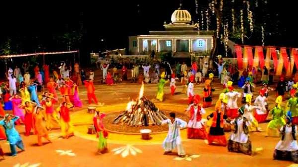 punjabi festival lohri images