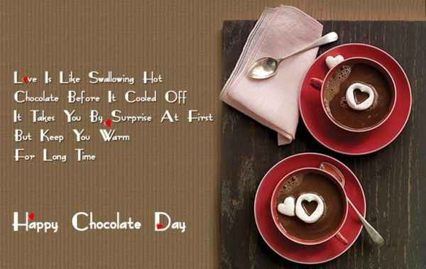 हैप्पी चॉकलेट डे वॉलपेपर 2018 - Chocolate Day Images Download with Shayari HD Pics, Photos Gifs - Whatsapp DP in Hindi for Girlfriend & Boyfriend