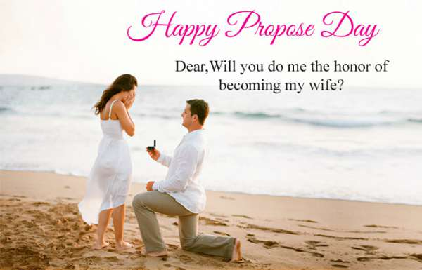 8th February HD Propose Day Images with Quotes in English