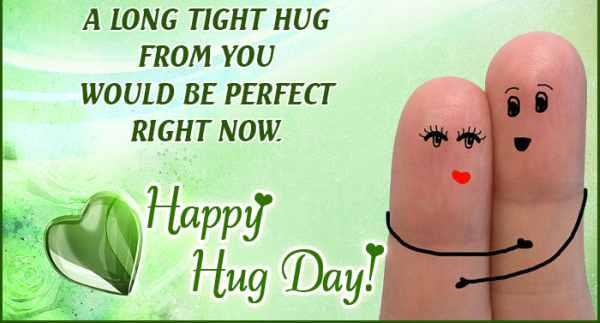 Cute hug status