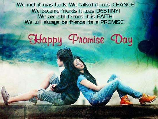 Promise day dp for Whatsapp & Facebook