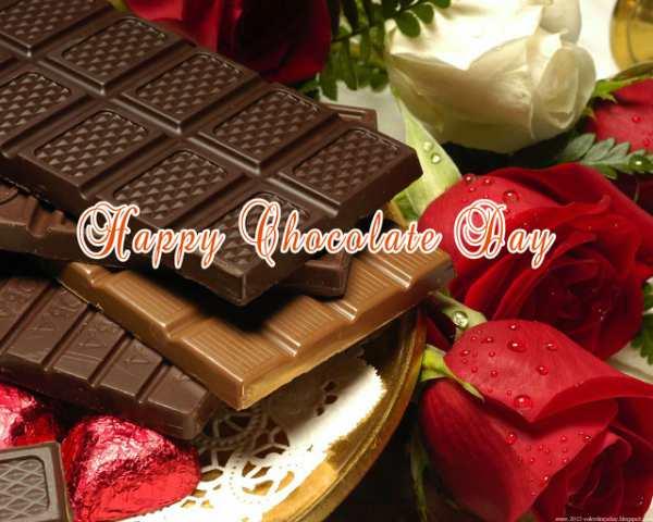 हैप्पी चॉकलेट डे वॉलपेपर 2018