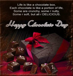 whatsapp sms for chocolate day