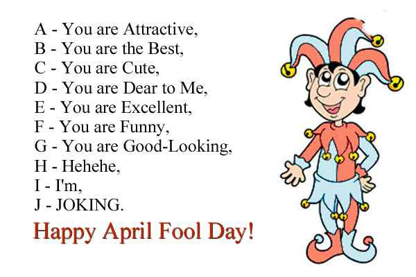 April Fool Joke WhatsApp Image