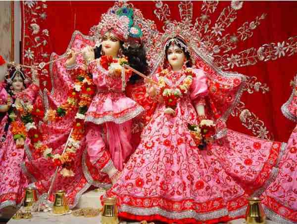 radha krishna holi images hd