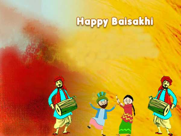 Happy Baisakhi wishes in Hindi