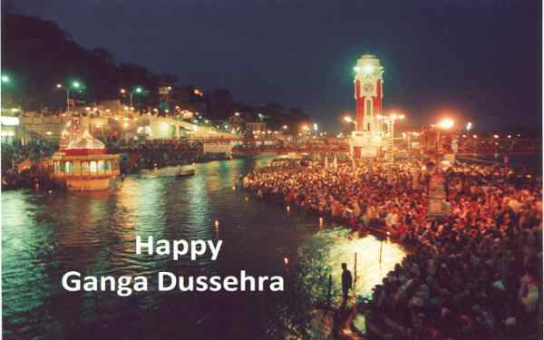 Ganga Dussehra Wishes in hindi
