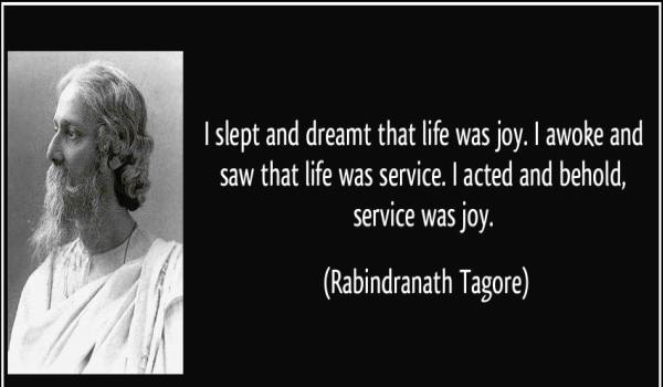 Rabindranath Tagore Messages