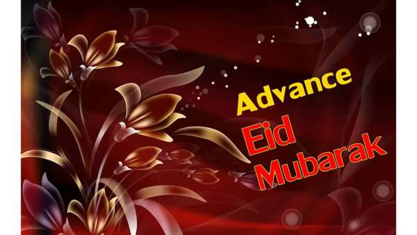 Advance Eid Mubarak Images Wallpapers