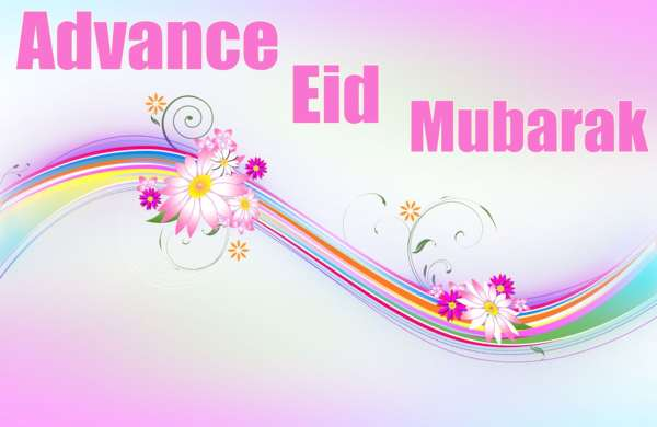 Advance Eid Mubarak Picture