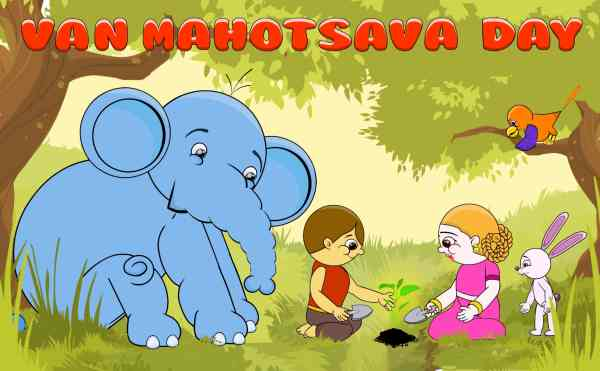 van mahotsav drawing pictures