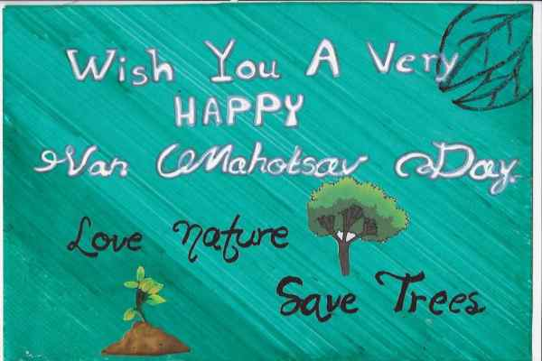 Van Mahotsav slogans in English