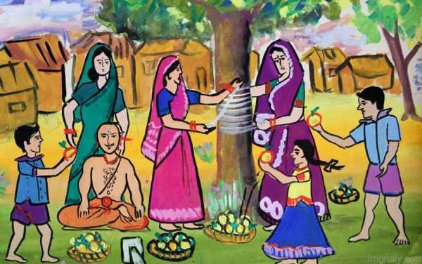 Vat Purnima Chya Hardik Shubhechha