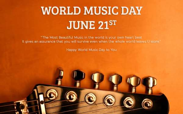 World Music Day Wishes Pics