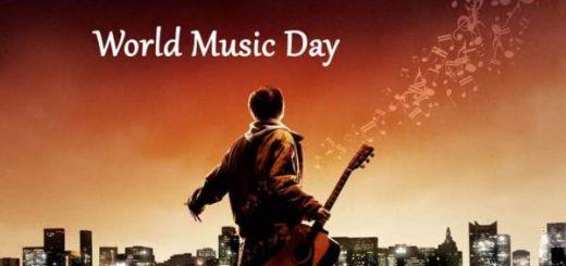 World music day status in Hindi for WhatsApp