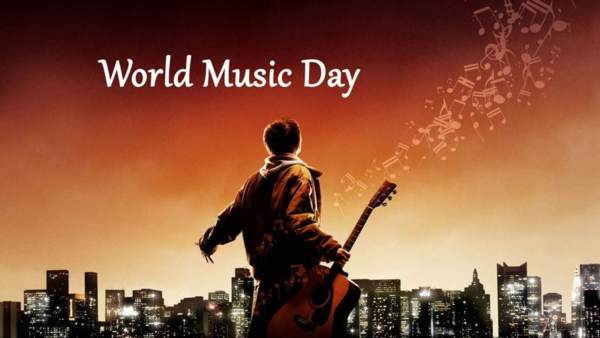World music day status in Hindi for WhatsApp