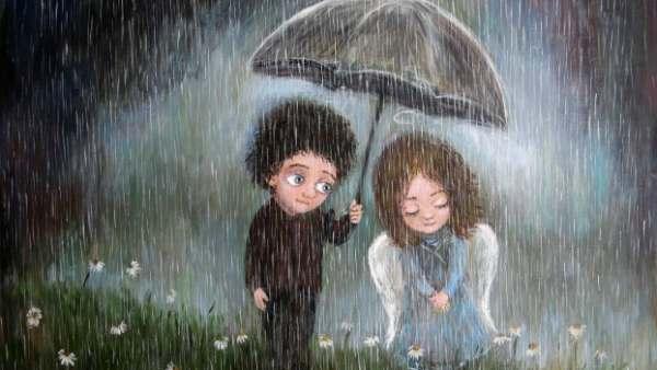 पाऊस प्रेम कविता