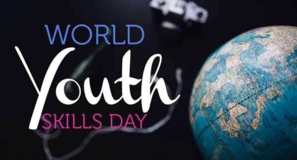 विश्व युवा कौशल दिवस पर नारे