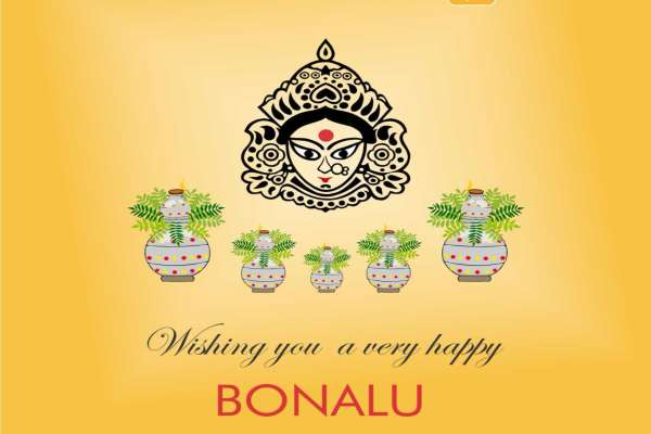 Happy Bonalu Wallpaper