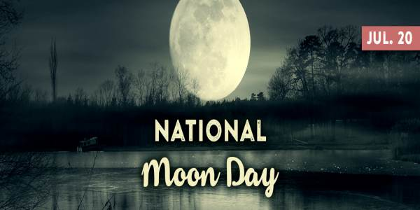 National Moon Day Posters