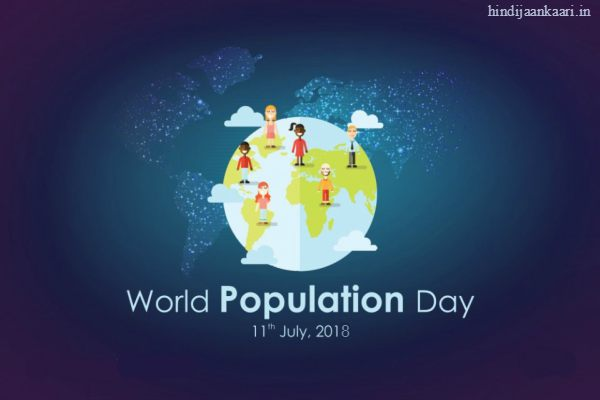Posters on World Population Day with Slogans