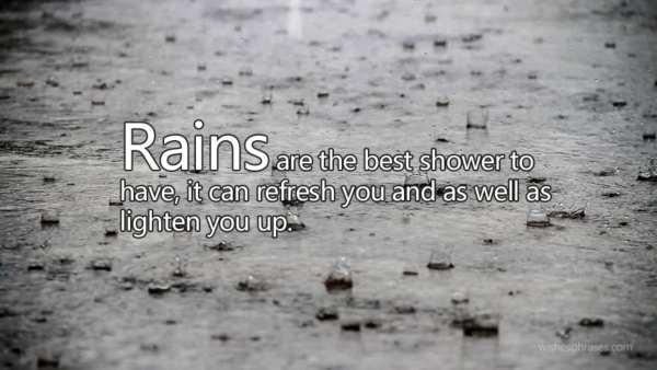 Rainy Season Quotes in Hindi