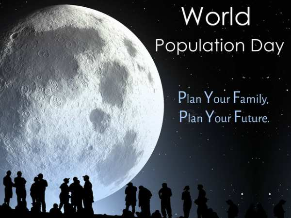 Thought on world population day in english