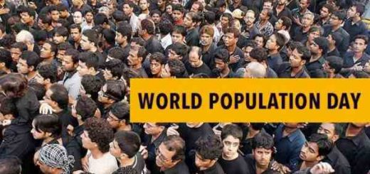 world population day Collage Paintings