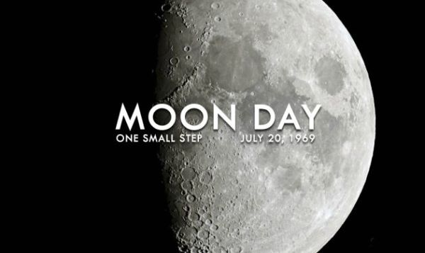 posters on moon day