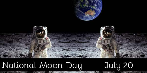 world moon day posters