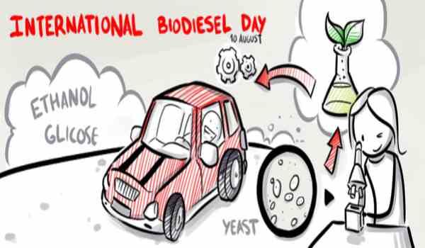 Essay on International Biodiesel Day in Hindi