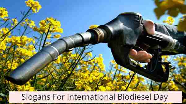 International Biodiesel Day Slogans in Hindi