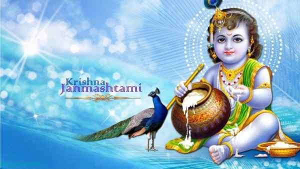 Krishna Janmashtami 2018 Wishes in Hindi