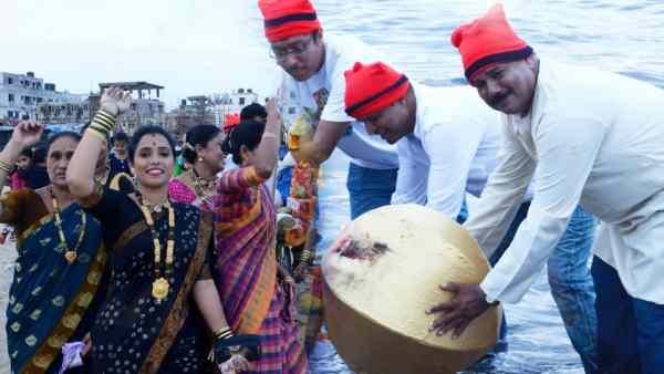 Narali Purnima Wishes in Marathi