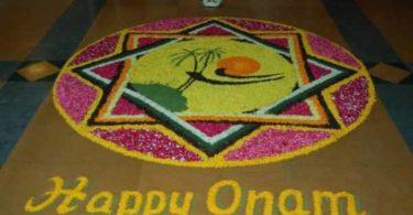 onam rangoli designs with theme