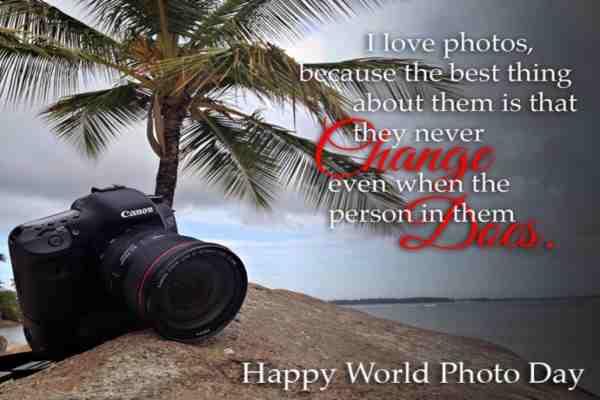 World Photography Day Image