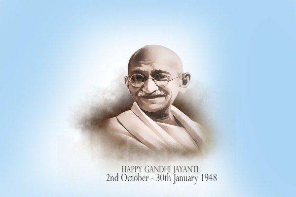 Gandhi Jayanti Status in Hindi for WhatsApp