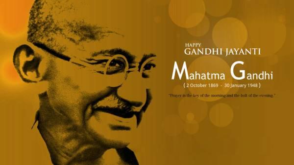 Gandhi jayanti images with quotes