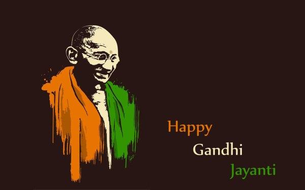 Gandhi jayanti poster