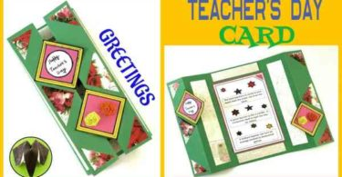 Happy Teachers Day Greeting Card