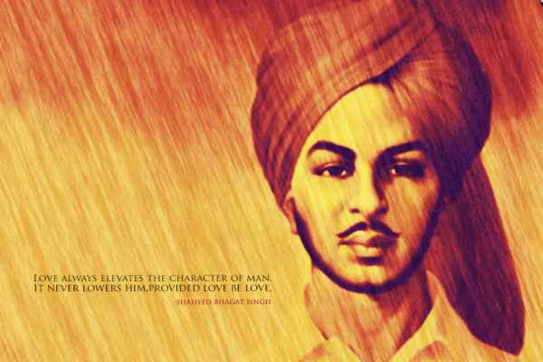 Pic of Bhagat Singh