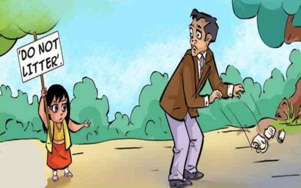 Swachh Bharat Abhiyan Cartoons