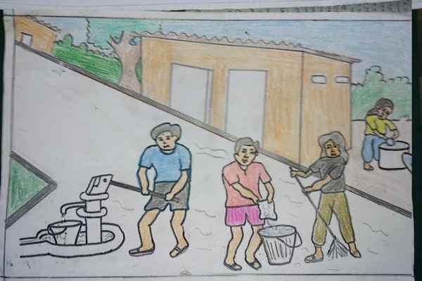 swachh bharat abhiyan poster drawing
