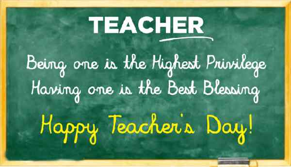 Teachers Day Speech by a Teacher