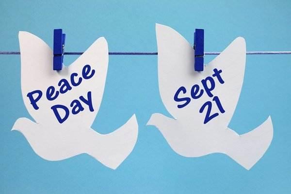 World Peace Day Slogan in English