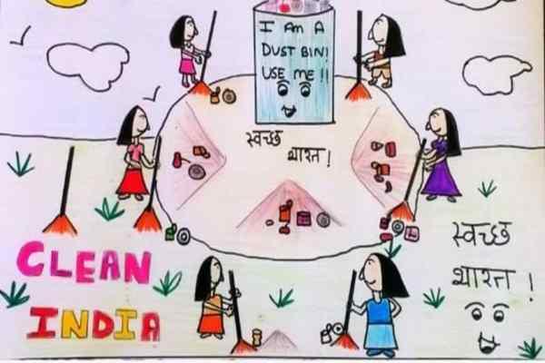 swachh bharat abhiyan poster download