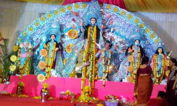 Durga Puja Pandal Images HD